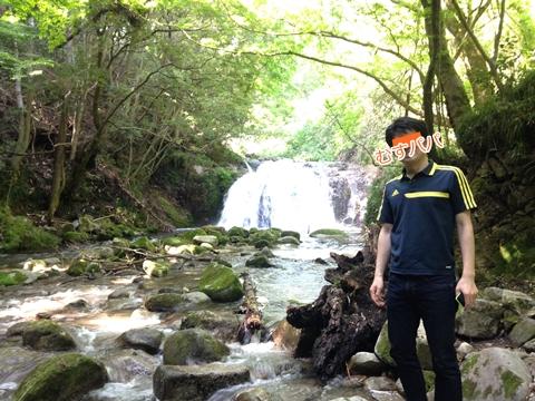 花貫渓谷 滝