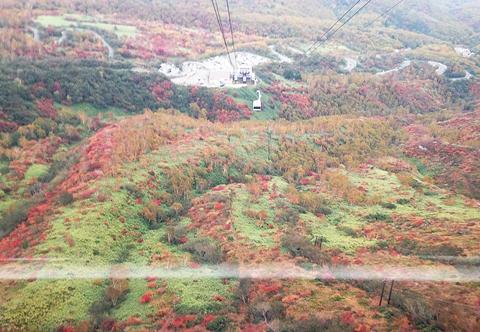 那須ロープウェー紅葉2015茶臼山